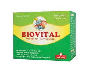 Sử dụng cốm Biovital để trẻ có hệ tiêu hóa khỏe mạnh 1