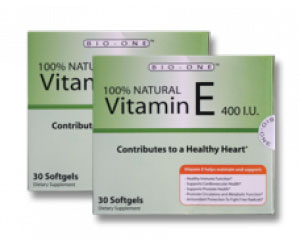 100% NATURAL VITAMIN E 400 IU