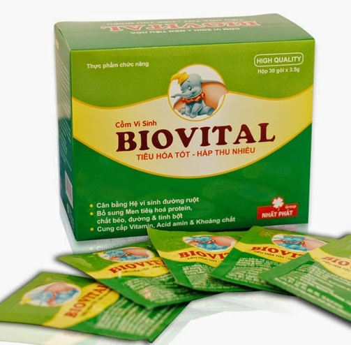 Sử dụng Biovital 1