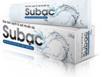 Gel làm sạch da SUBAC – kem bôi của công ty dược phẩm Á Âu