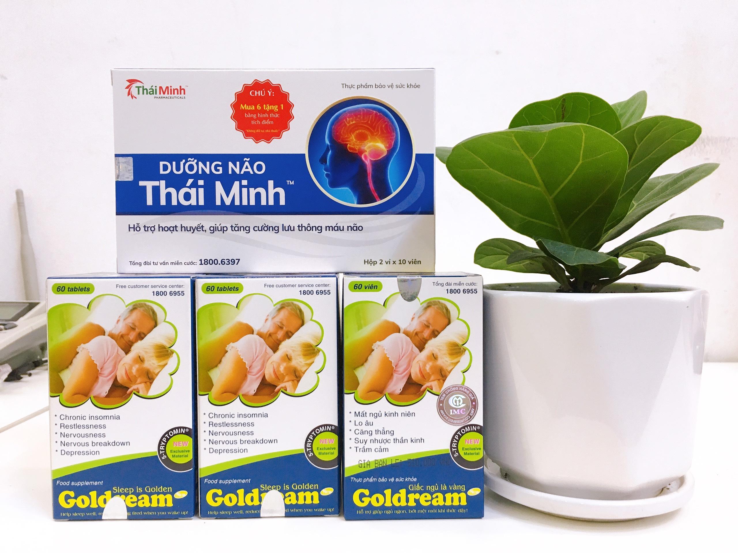 Công dụng của Goldream: 1