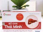 Bổ Gan Thái Minh – thanh nhiệt, giải độc, tăng cường chức năng gan