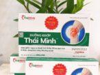 Dưỡng Khớp Thái Minh – giúp giảm nguy cơ thoái hóa, hỗ trợ làm trơn ổ khớp, tăng khả năng hồi phục khớp .